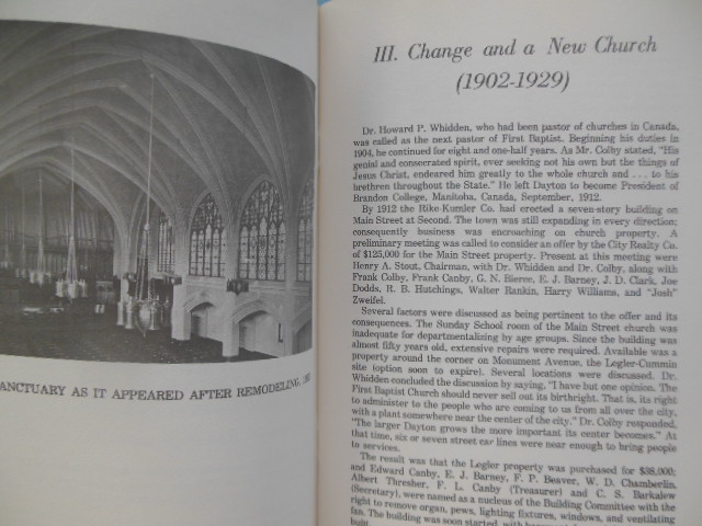 Image for Sesquicentennial History of the First Regular Baptist Church Dayton, Ohio (1974)