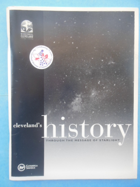 Image for Cleveland's History Through the Message of Starlight (Cleveland Bicentennial, 1996)