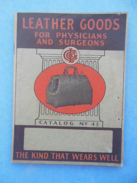 Image for The Cleveland Leather Goods Co.: Leather Goods for Physicians and Surgeons, 1938