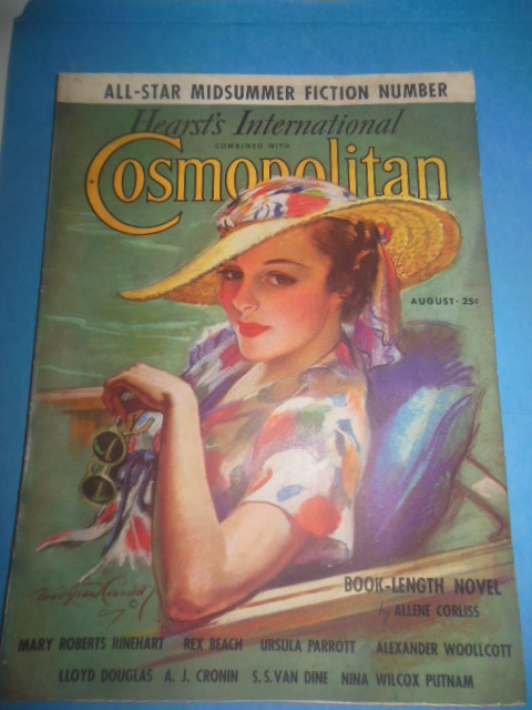 Image for Hearst's International Combined with Cosmopolitan Magazine (August, 1936)