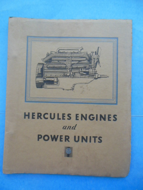 Image for Hercules Engines and Power Units  (25 bulletins 1933-34)