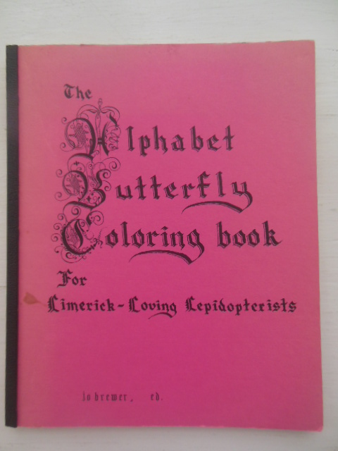 Image for The Alphabet Butterfly Coloring Book for Limerick-Loving Lepidopterists (1975)