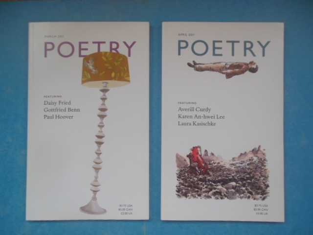 Image for Poetry Magazine April and May, 2011