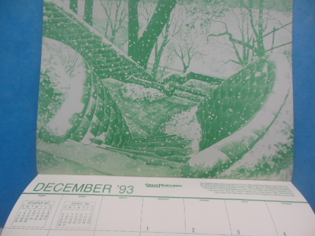Image for Calendar, Images of the Summit, Illustrations by Chuck Ayers 1993