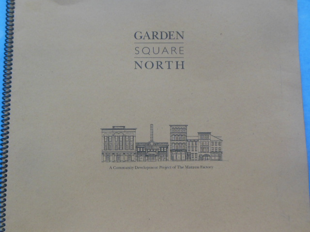 Image for Garden Square North Revitalization Plan (Pittsburg, Project of the Mattress Company, 1994)