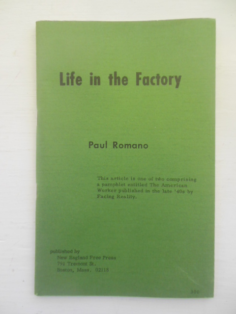Image for Life In the Factory