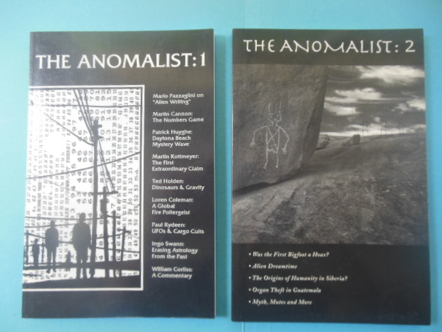 Image for The Anomalist: I and II (1994-95)