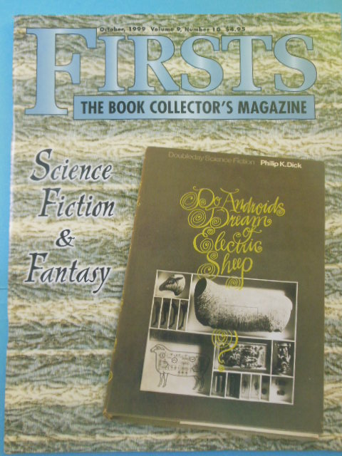 Image for Firsts: The Book Collector's Magazine October, 1999  (Science Fiction and Fantasy)