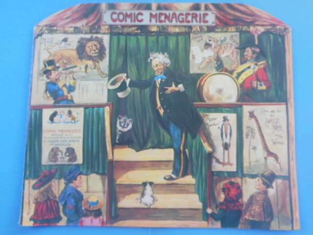 Image for Comic Menagerie (1984)