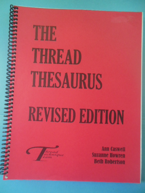 Image for The Thread Thesaurus Revised Edition