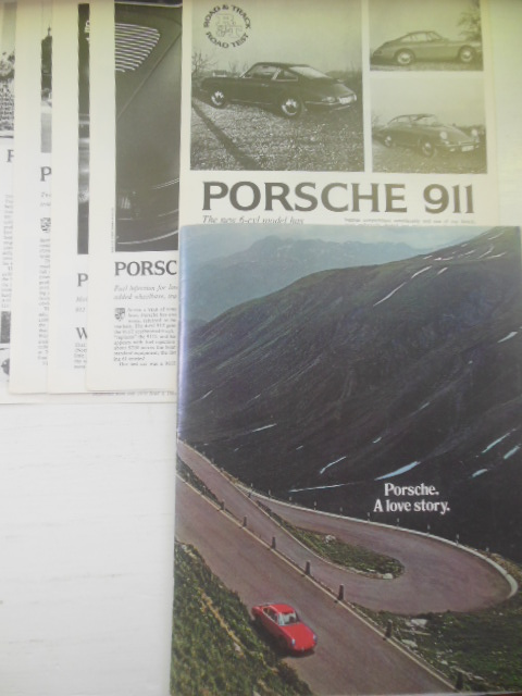 Image for Porsche A Love Story (Plus Five Road and Track Tests Laid-In, 1971-1972