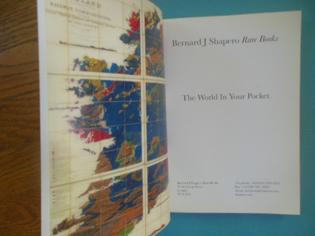 Image for The World In Your Pocket: Bernard J. Shapero Rare Books (2002)