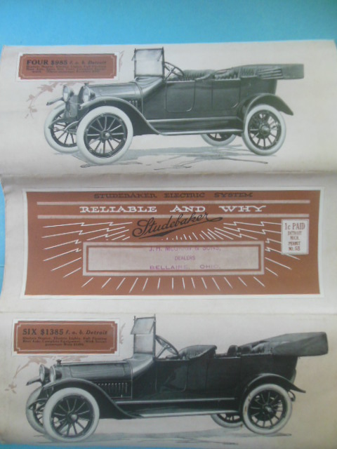 Image for Studebaker Electric System Reliable and Why ((Circa Early 1900's)