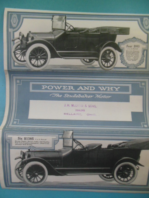 Image for Power and Why The Studebaker Motor (Circa Early 1900's)