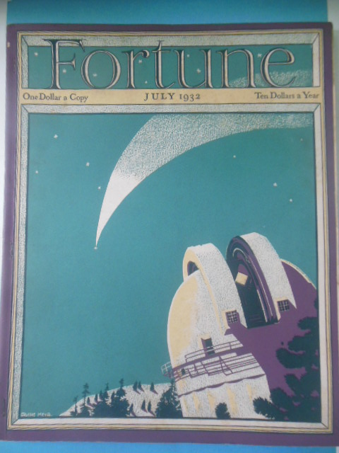 Image for Fortune Magazine July, 1932 (Science and Economics)