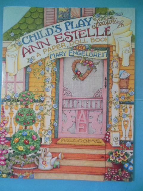 Image for A Child's Play Featuring Ann Estelle: A Paper Doll Book (1998)