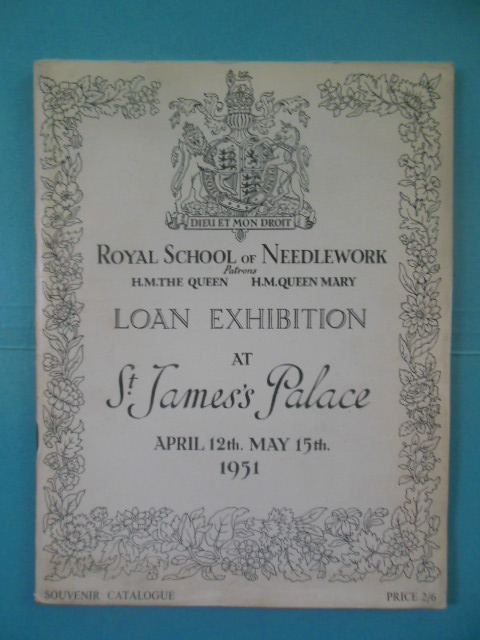 Image for Royal School of Needlework Loan Exhibition at St. James's Palace April 12th - May 15th 1951