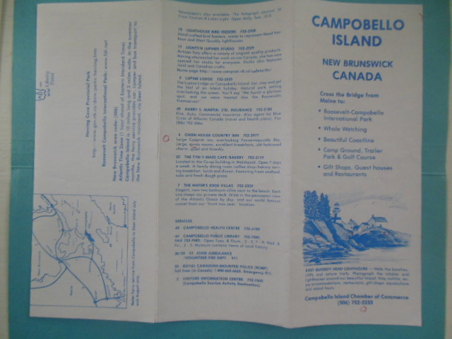 Image for Eleanor Roosevelt on Campobello (Plus Campobello Island. Roosevelt Campobello International Park)