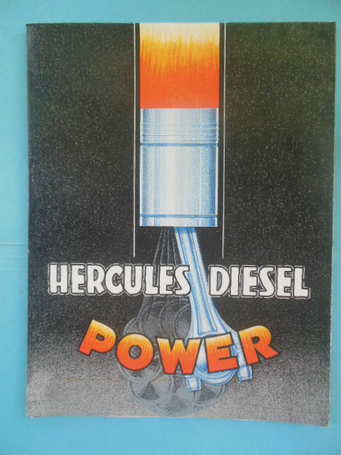 Image for Hercules Diesel Power Model DHXB Specifications Bulletin SP-135. (1934)