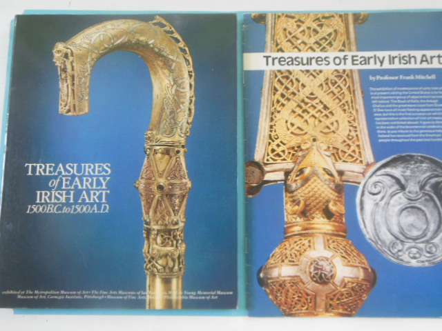 Image for Treasures of Early Irish Art 1500-B.C. to 1500 A.D. Plus Commentary Booklet (1978)