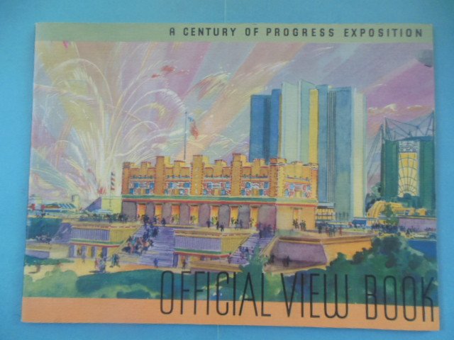 Image for A Century of Progress Exposition Official View Book (1933)