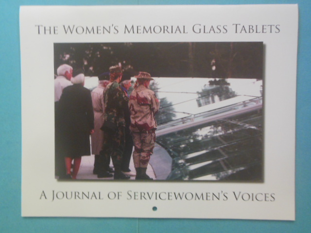 Image for Women's Memorial 2009 Special Edition Calendar: The Women's Memorial Glass Tablets, A Journal of Servicewomen's Voices