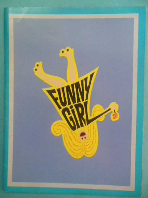 Image for Funny Girl Theater Souvenir Book. Barbra Streisand, Omar Sharif 1968