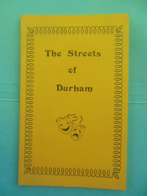 Image for The Streets of Durham: A Play by Thomas Wolfe