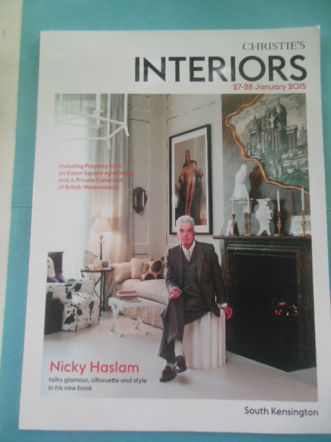 Image for Christie's Interiors Auction Catalog 27-18 January, 2015