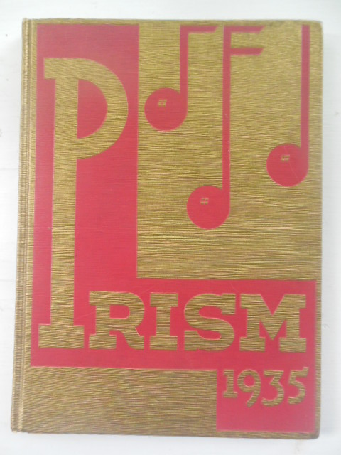 Image for The Prism; Eureka College Yearbook 1935, Eureka, Illinois