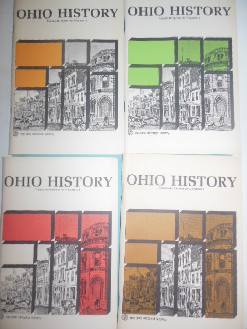 Image for Ohio History Magazine Volume 86, Numbers 1-4, 1977