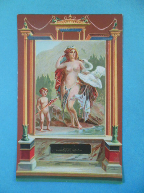 Image for Postcard Pompeii; Leda and the Swan