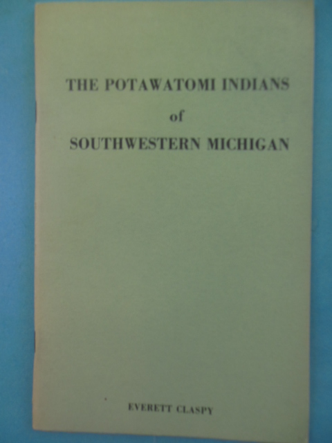 Image for The Potawatomi Indians of Southwestern Michigan 1966