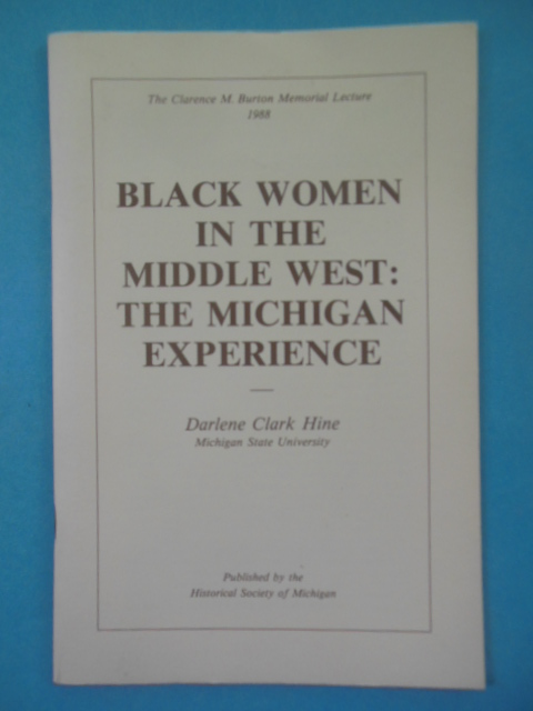Image for Black Women In the Middle West: The Michigan Experience