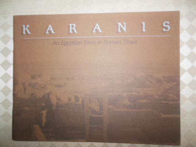 Image for Karanis: An Egyptian Town in Roman Times