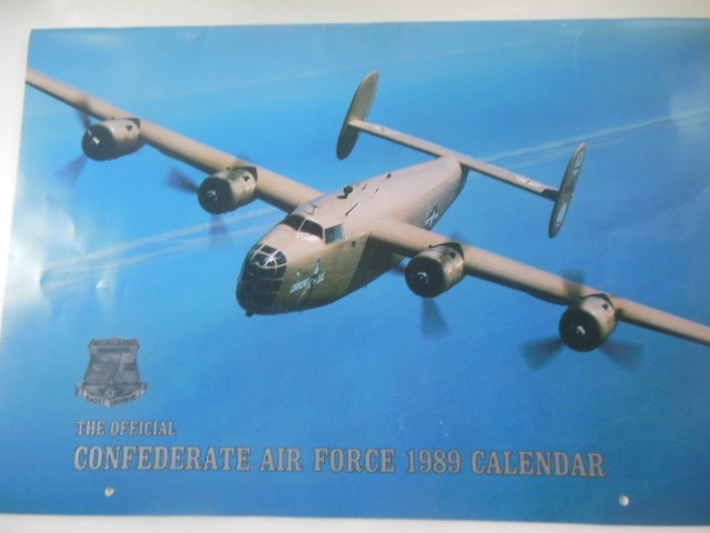 Image for The Oficial Confederate Air Force 1989 Calendar