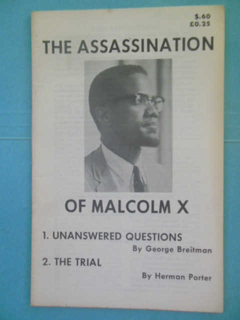 Image for The Assassination of Malcolm X