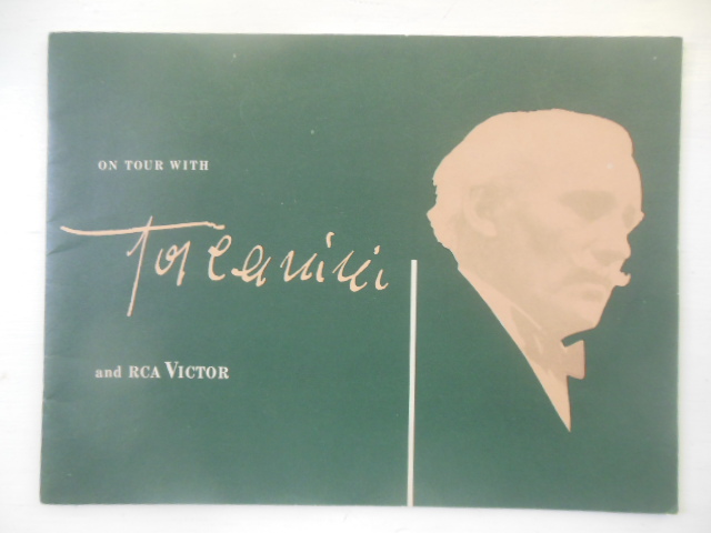 Image for On Tour With Toscanini and RCA Victor -- 950's