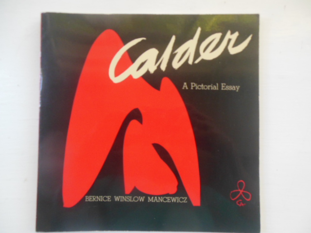 Image for Calder: A Pictorial Essay -- 1969