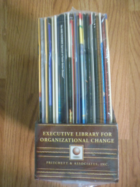 Image for The Executive Library for Organizational Change  (21 Handbooks in Slipcase)