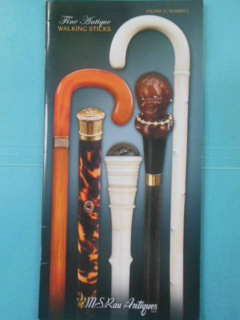 Image for Fine Antique Walking Sticks: M.S. Rau Antiques