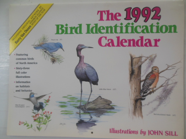 Image for The 1992 Bid Identification calendar