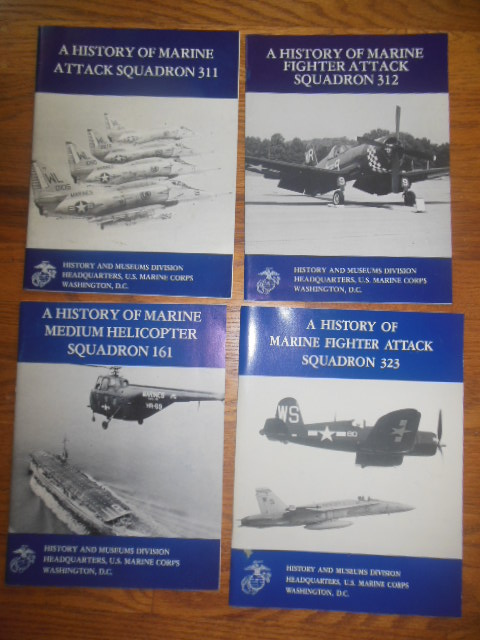 Image for A History of Marine Attack Squadron 311; Fighter Attack Squadron 312; Medium Helicopter Squadron 161; Marine Fighter Attack Squadron 323