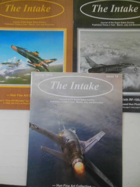 Image for The Intake: Journal of the Super Sabre Society. Issues 18,19,20. Complete Run 2012.