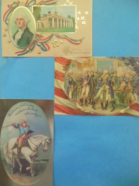Image for George Washington Postcards by Merrimack (3)