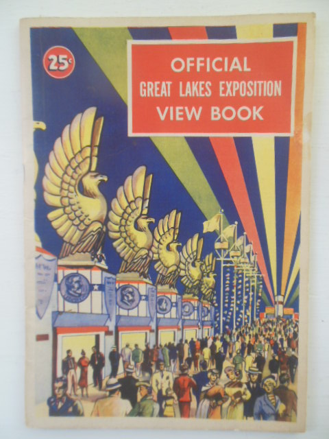 Image for Official Great Lakes Exposition View Book 1936