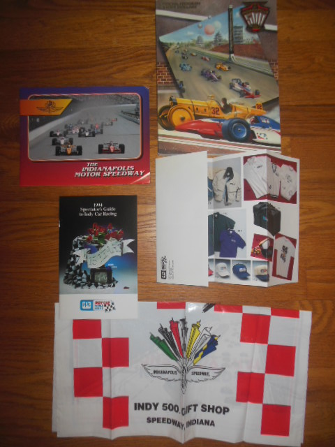 Image for 1997 Indianapolis 500 Official Program with extra ephemera