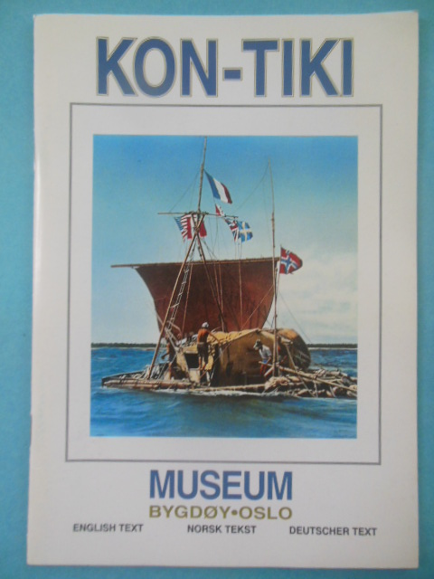 Image for Kon-Tiki Museum Norway; English, Norsk and German Text