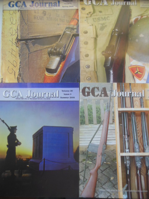 Image for GCA Journal Official Publication  of the Garand Collectors Association. Full Run 2006