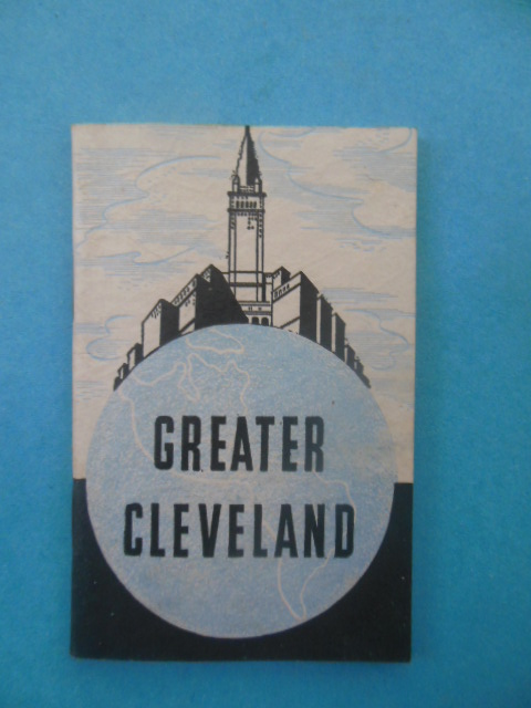 Image for Greater Cleveland 1938  booklet)